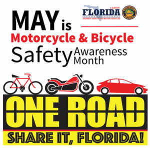 One Road Share it Motorcycle and Bicycle Awareness Month PSA.